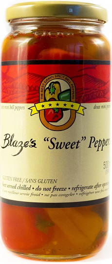 Sweet Mini Bell Peppers Box (3 Jar) 16 oz each